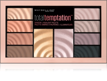 Maybelline Total Temptation paletă cu farduri de ochi