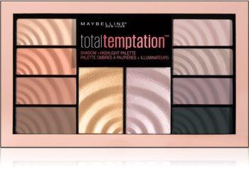 Maybelline Total Temptation paleta de sombras de ojos