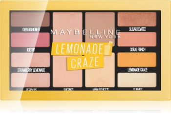 Maybelline Lemonade Craze paleta očních stínů