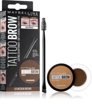 Maybelline Tattoo Brow gel-pommade pour sourcils