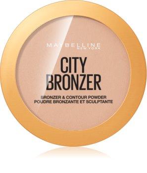Maybelline City Bronzer bronzer a konturovací pudr