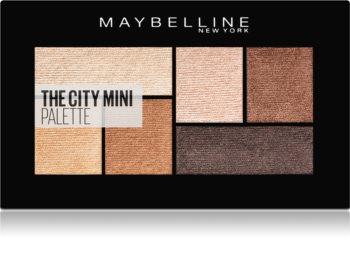 Maybelline The City Mini Palette paletka očných tieňov