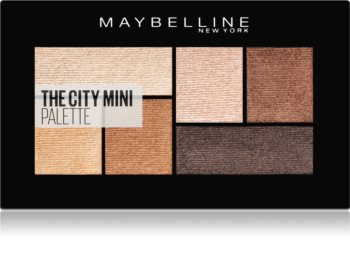 Maybelline The City Mini Palette палитра сенки за очи