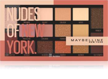 Maybelline Nudes Of New York paletka očních stínů