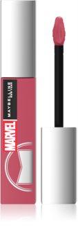 Maybelline x Marvel SuperStay Matte Ink batom líquido de longa duração