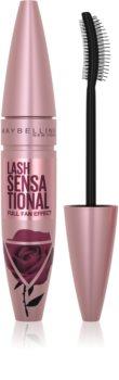 Maybelline Lash Sensational Roses Limited Edition legyező hatású szempillaspirál a hosszú és dús pillákért