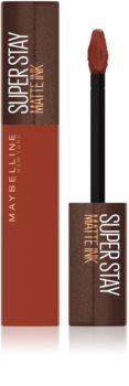 Maybelline SuperStay Matte Ink Coffee Edition mat tekući ruž za usne