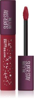 Maybelline SuperStay Matte Ink Zodiac Edition tartós matt folyékony rúzs