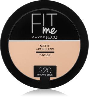 Maybelline Fit Me! Matte+Poreless matující pudr