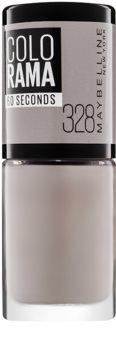 Maybelline Colorama 60 Seconds vernis à ongles à séchage rapide