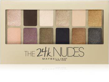 Maybelline The 24K Nudes Lidschattenpalette