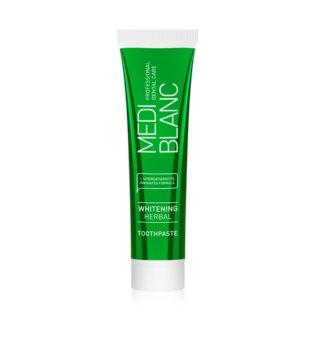 MEDIBLANC Whitening Herbal pasta dental con hierbas con efecto blanqueador