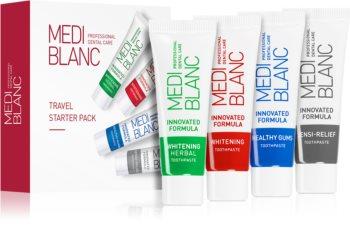 MEDIBLANC Dental Care cestovní balení (pro komplexní péči a bělení citlivých zubů)