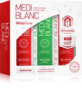 MEDIBLANC WhiteTime darilni set