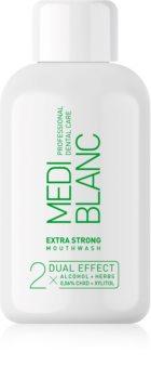 MEDIBLANC Extra Strong apă de gură extra puternică