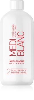 MEDIBLANC Anti-plaque enjuague bucal con efecto antiplaca