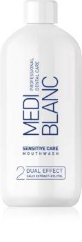 MEDIBLANC Sensitive Care apă de gură pentru dinți și gingii sensibile