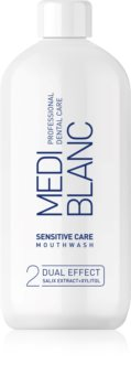 MEDIBLANC Sensitive Care elixir bocal para dentes e gengivas sensíveis