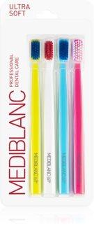 MEDIBLANC 5690 Ultra Soft четки за зъби ултра софт 4 бр.