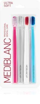 MEDIBLANC 5690 Ultra Soft Periuțe de dinți ultra soft, 4 bucăți