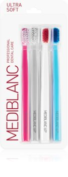 MEDIBLANC 5690 Ultra Soft Ultramjuka tandborstar, 4st