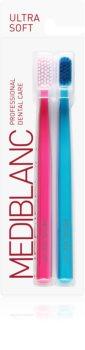 MEDIBLANC 5690 Ultra Soft Periuțe de dinți ultra soft, 2 bucăți