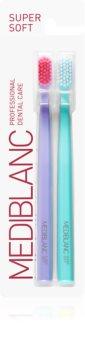 MEDIBLANC 4210 SUPER SOFT brosse à dents super soft (2 pcs)