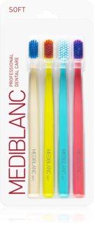 MEDIBLANC 3210 SOFT brosse à dents super soft 4 pcs