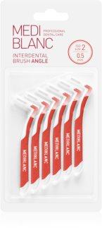 MEDIBLANC Interdental Brush Angle mezizubní kartáček 6 ks