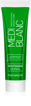 MEDIBLANC Whitening Herbal bylinná zubní pasta s bělicím účinkem
