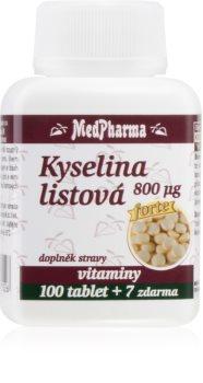 MedPharma Kyselina listová 800 μg doplněk stravy pro těhotné ženy