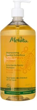 Melvita Hair champô suave extra para toda a família