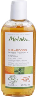 Melvita Hair champú para lavar el cabello con frecuencia