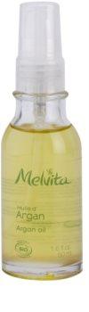 Melvita Huiles de Beauté Argan óleo nutritivo revitalizante para rosto e corpo