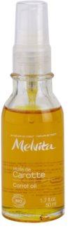 Melvita Huiles de Beauté Carotte huile adoucissante pour un bronzage naturel visage et corps