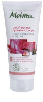 Melvita Nectar de Roses loção corporal refrescante com efeito hidratante