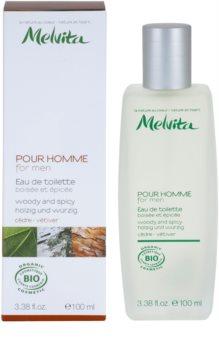 Melvita Pour Homme Eau de Toilette para homens 100 ml  Cedar - Vetiver