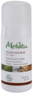 Melvita Pour Homme Desodorizante Roll-On sem amoníaco