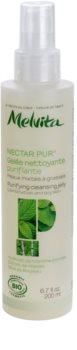 Melvita Nectar Pur gel limpiador suave  para pieles grasas y mixtas