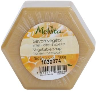 Melvita Savon jabón vegetal  con miel