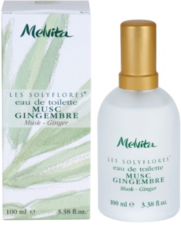 Melvita Solyflores Musk - Ginger eau de toilette para mujer 100 ml