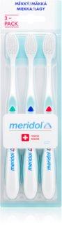 Meridol Gum Protection cepillo de dientes 3 uds suave