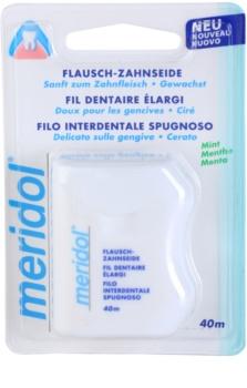 Meridol Dental Care fil dentaire ciré saveur de menthe