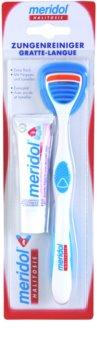 Meridol Halitosis raspador de língua  +dentífrico