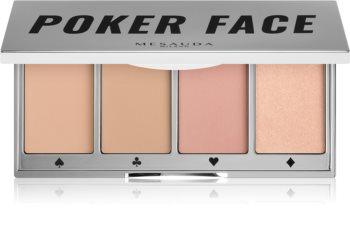 Mesauda Milano Poker Face paletta az egész arcra