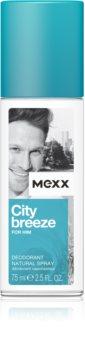 Mexx City Breeze desodorante con pulverizador para hombre 75 ml