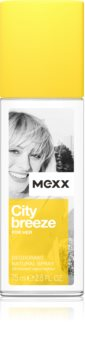 Mexx City Breeze desodorizante vaporizador para mulheres