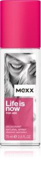 Mexx Life is Now  for Her spray dezodor hölgyeknek