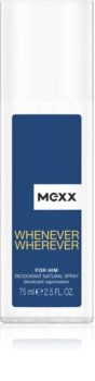 Mexx Whenever Wherever dezodorant z atomizerem dla mężczyzn