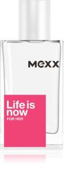 Mexx Life is Now  for Her toaletná voda pre ženy